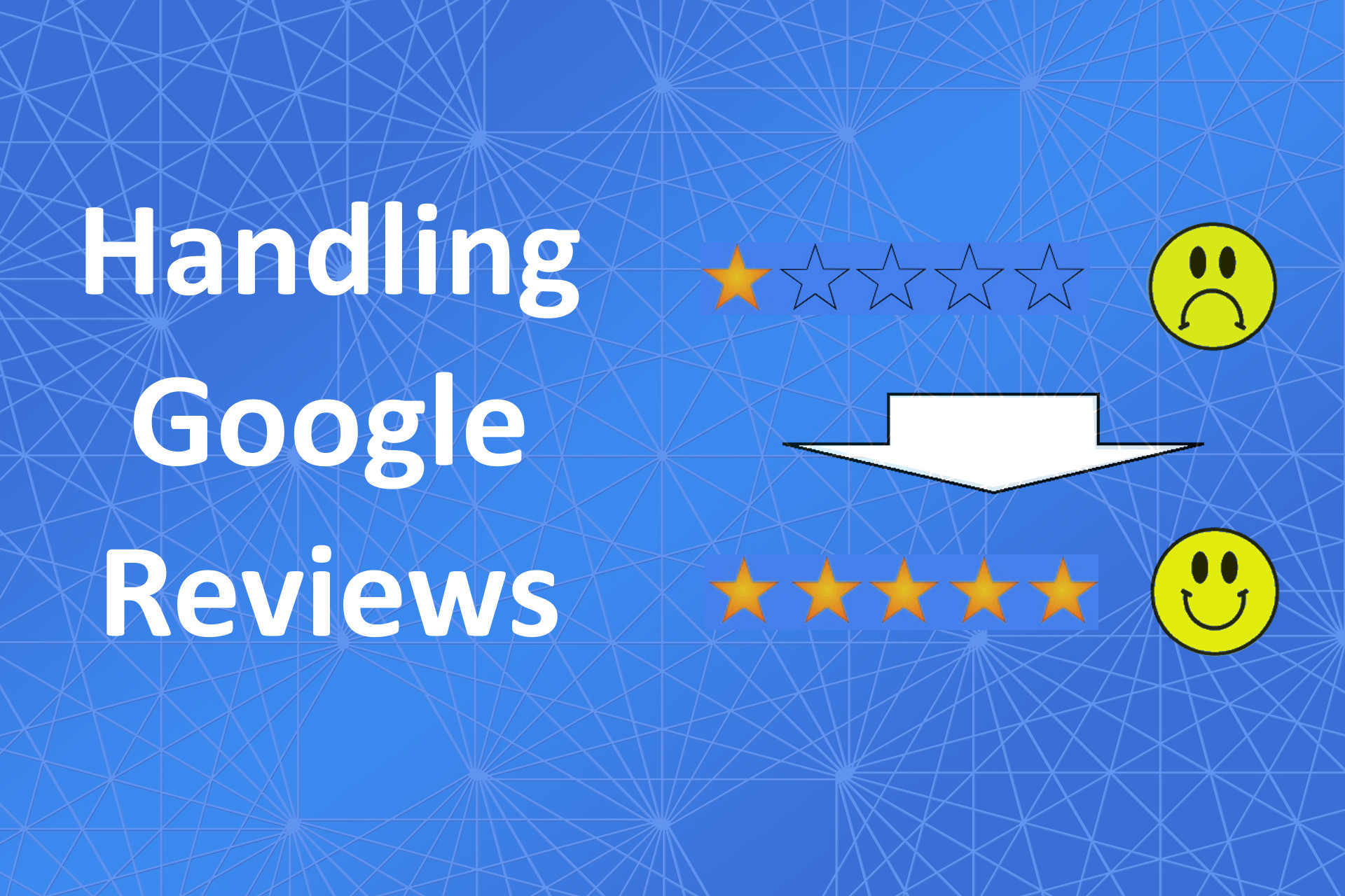 ChezRoberts services blog Handling Google reviews