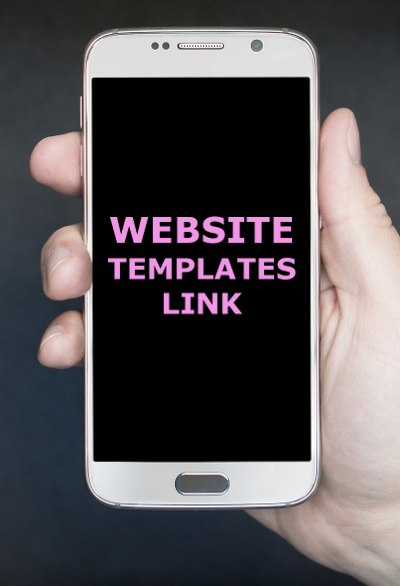 A selection of website templates to give you inspiration for your own website